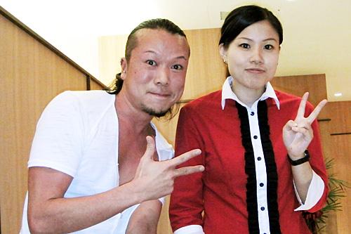 台湾美女とクユキサン