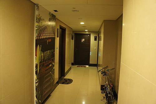 台湾のアパートメント