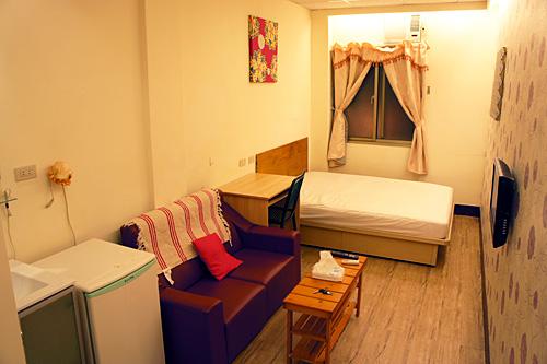 台北のアパートメント