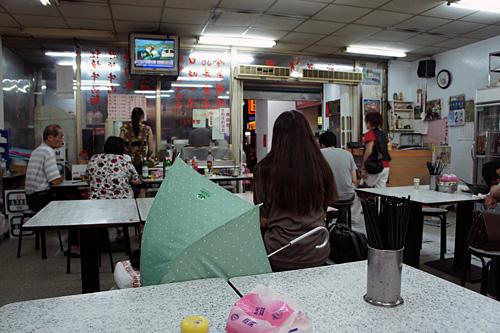 台北のお店の内