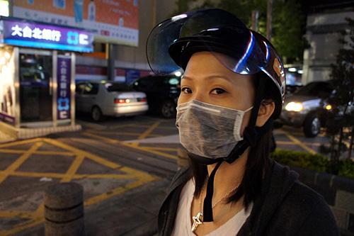 台北の一般的なバイカースタイル