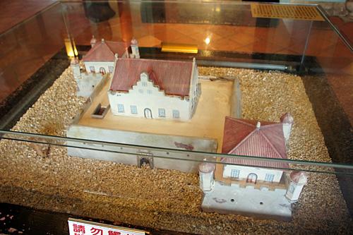 チーカンロウの模型