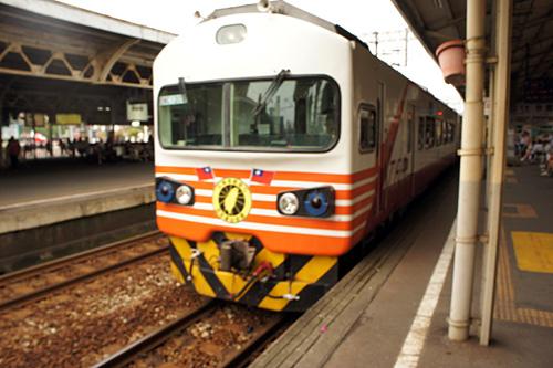 台湾の電車