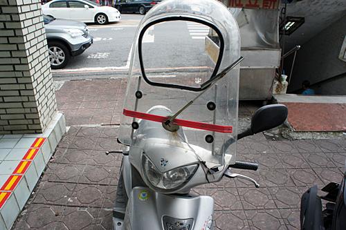 宜蘭のバイク
