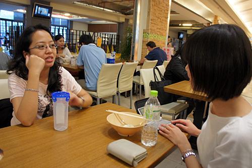 台湾大学のカフェテリア