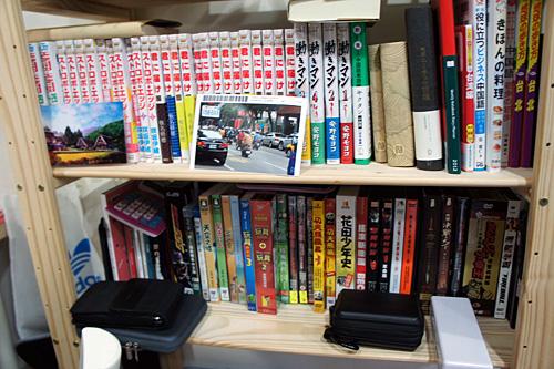 日本人留学生の部屋