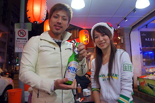 台湾ビールガール