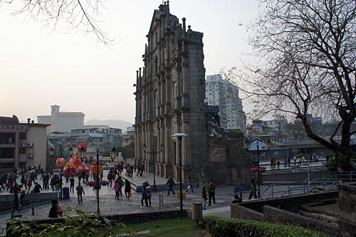 聖ポール天主堂(大聖堂)跡