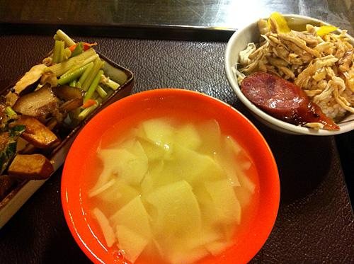 タケノコスープ